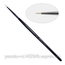 1D. Кисть для дизайна круглая 00-s PNB, нейлон / Nail Art Brush round 00-s, nylon