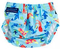 Детские трусики для плавания Aquanappy Characters Cyan, 3-30 мес. ТМ Konfidence OSSN23-2, фото 1