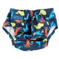 Детские трусики для плавания Aquanappy Characters Navy, 3-30 мес. ТМ Konfidence OSSN22-1, фото 1