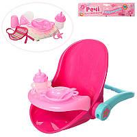 Столик - стульчик для кормления пупсаbaby born (беби берн) иНабор аксессуаров для Пупса - посуда, 3836