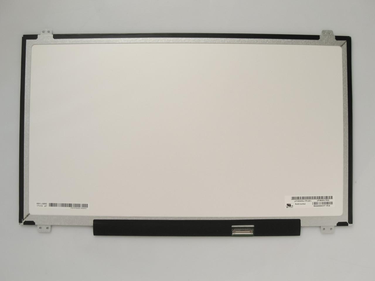 Матрица для ноутбука 15.6 Led Slim глянцевая 1366x768 30pin lvds разъем справа внизу (со стороны платы) нов