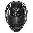Шлем Shark Skwal 2 Flynn р.XL, черно-белый, фото 2