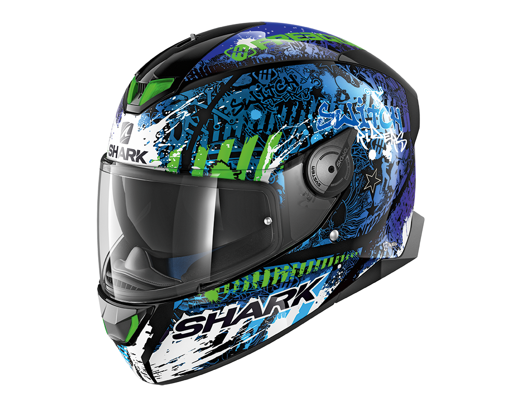 Шлем Shark Skwal 2 Switch Rider 2 р.L, синий