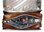 Сумка-барсетка кожаная SB1995 (633311), Коричневый, фото 3