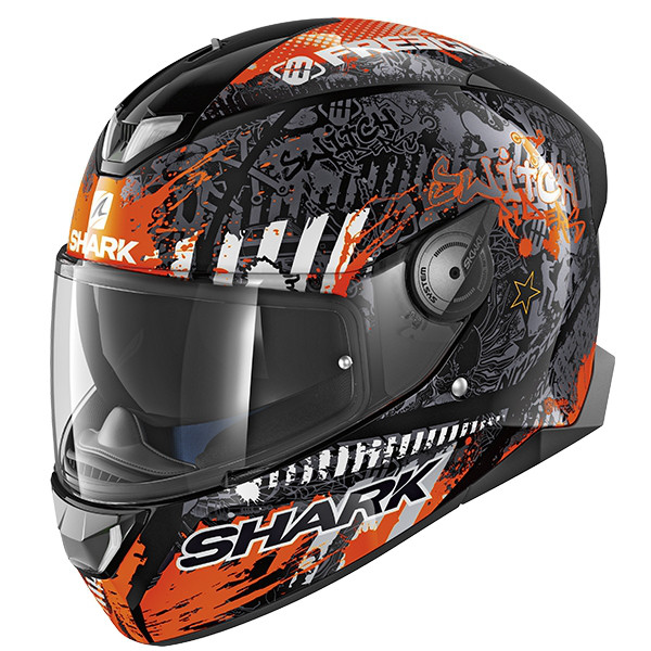 Шлем Shark Skwal 2 Switch Rider 2 р.L, черно-оранжевый