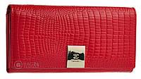 Многофункциональный женский кожаный кошелек CHANEL 13621, Красный