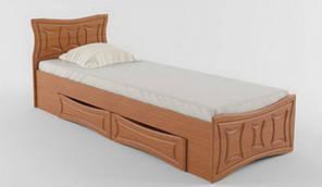 Односпальне ліжко з ящиками 80х200 Сузір'я Летро