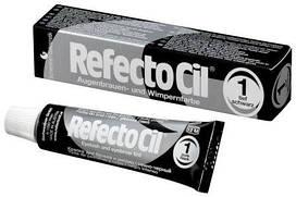 Краска для бровей и ресниц черная Refectocil №1
