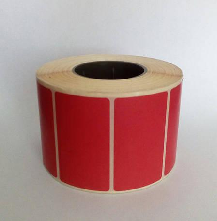 52х30мм Термоэтикетка самоклеющаяся, 700шт для ценников, фото 2