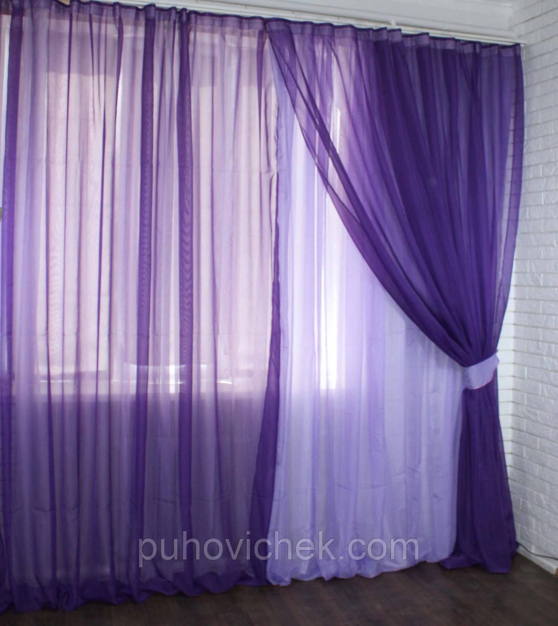 Гарний комплект штор для спальні недорого
