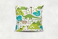 Сувенирная подушка Динозаврики