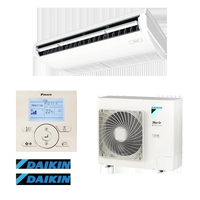 Стельовий інверторний кондиціонер Daikin FHA140/RZASG140 Advance-series (однопотоковий)