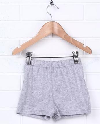 Трусы-шорты для мальчика , светло серые, фото 2