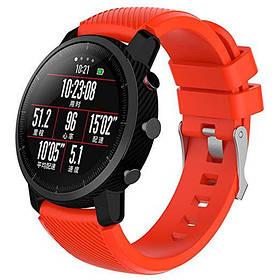 Силіконовий ремінець Primo для годин Xiaomi Huami Amazfit SportWatch 2 / Amazfit Stratos - Orange