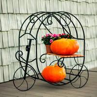 Кованные садовый декор