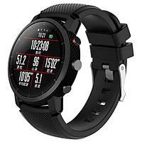 Силиконовый ремешок для часов Xiaomi Huami Amazfit SportWatch 2 / Amazfit Stratos - Black