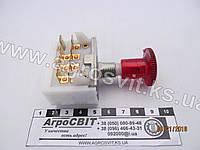 Выключатель аварийной сигнализации 12 / 24V (большой), кат. № ВК-422