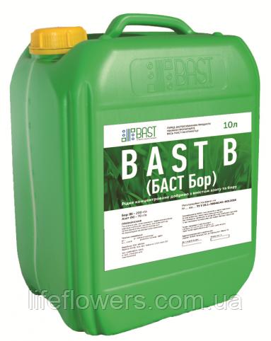 БАСТ Бор, рідке комплексне добриво з вмістом азоту і бору на соняшник