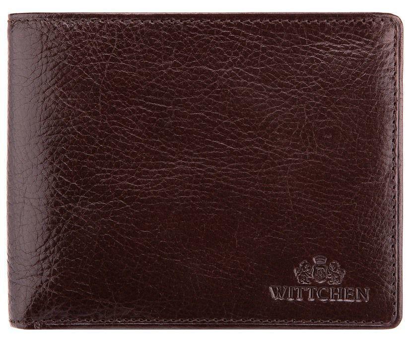 9aef60e9a442 Стильный кожаный кошелек WITTCHEN, Коричневый - Интеренет магазин сумок  Bag24 в Киеве