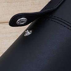 KATTI Туба для кистей кнопки большой высота=23см матовая черная, фото 3