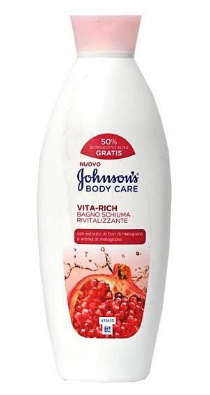 Гель для душа Johnson's Body care (гранат) 750 мл