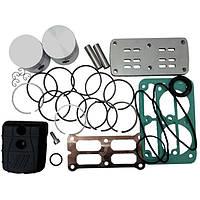 Рем.комплект для компрессора AB100-360 (фильтр, клапанная плита, н-р прокладок, н-р поршней (2шт), 4086480000 FIAC