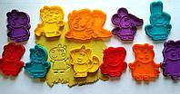 """3D формы-вырубки для пряников """"Свинка Пеппа. Семья и друзья"""""""