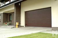 Автоматические секционные гаражные ворота 3500X2350