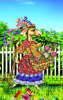 Схема для вышивки бисером Идет коза рогатая КМР 5044