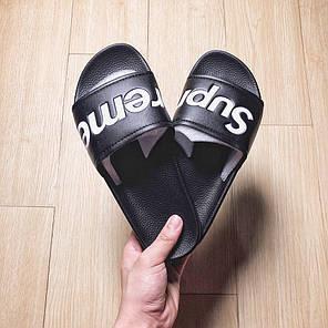 Сланці Supreme Slides (Чорні), фото 2