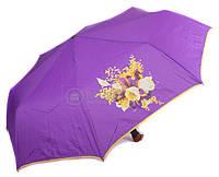 Ярко -фиолетовый зонт для дам, полуавтомат  AIRTON Z3651-10, Фиолетовый