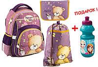 "Комплект. Рюкзак школьный Popcorn Bear PO18-518S + пенал + сумка, ТМ ""Kite"""