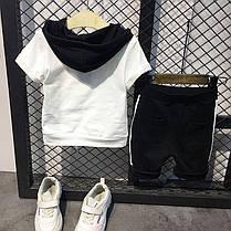 "Летний костюм для мальчика футболка и шорты ""oh yesi"", фото 3"