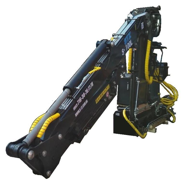 Гидроманипулятор S-100L (с вылетом стрелы 7, 5 и 8,5 м)