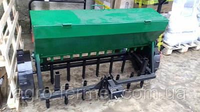 Сівалка зернова, овочева до мотоблоку або минитрактору 1,2-1,5 м