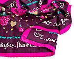 Яркий цветастый платок для женщин ETERNO ES4004, Розовый, фото 2
