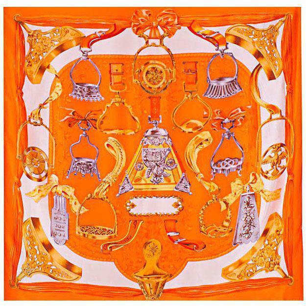 Оранжевый платок для женщин ETERNO ES0611-4-orange, Оранжевый