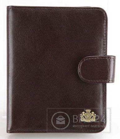 Добротная обложка для документов коричневого цвета WITTCHEN 10-1-103-4, Коричневый