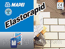 Быстро схватывающийся двухкомпонентный клей для керамогранита Mapei ELASTORAPID серый, фото 3