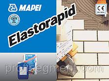 Швидко схоплюється двокомпонентний клей для керамограніту Mapei ELASTORAPID сірий,Харків, фото 3