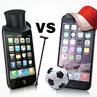 Китайский iPhone 6 vs Apple iPhone 3GS