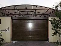 Ворота Alutech 3200X2600 Trend цвет вишня механика