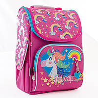 Рюкзак каркасный H-11 Unicorn blue, 33.5*26*13.5