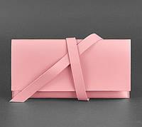 Кожаный тревел-кейс Voyager (розовый персик)