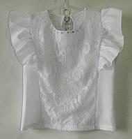 Блузки детские с коротким рукавом  (р.р. 122-146)