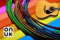 Цветные струны для гитары акустической