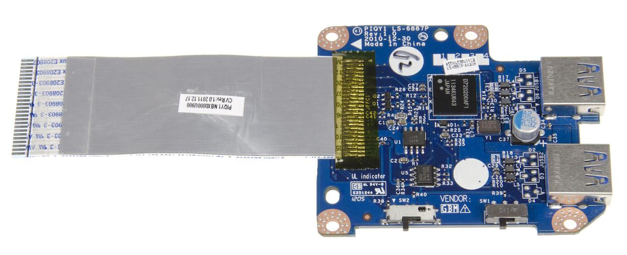 USB плата для ноутбука Lenovo IdeaPad Y570, LS-6887P