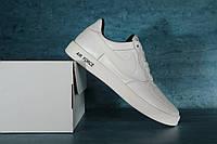 Мужские кроссовки Nike AirForce White 10719