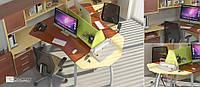 Ресепшн  Прайм 13 офисный шкаф