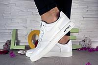 Женские белые кеды Nike AirForce White 107190
